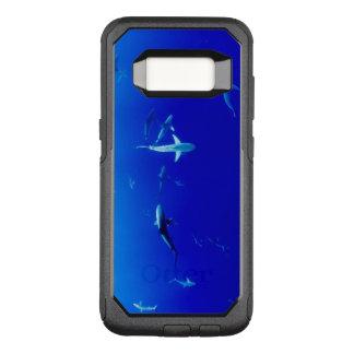 Haifische Unterwasser OtterBox Commuter Samsung Galaxy S8 Hülle