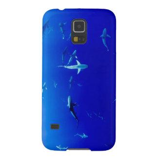 Haifische Unterwasser Samsung S5 Cover