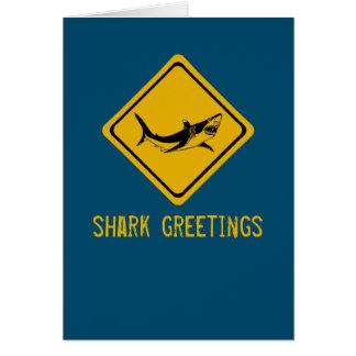 HaifischVerkehrsschild Karte