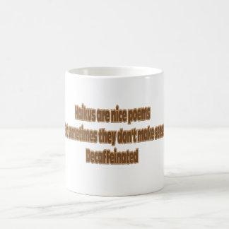 Haiku-Spaß Kaffeetasse