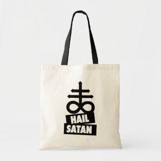 Hail Satan - 666 Cross Bag - Antichrist Tote Bag Tragetasche