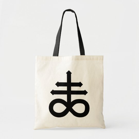 Hail Satan - Cross 666 Bag - Antichrist Tote bag Tragetasche
