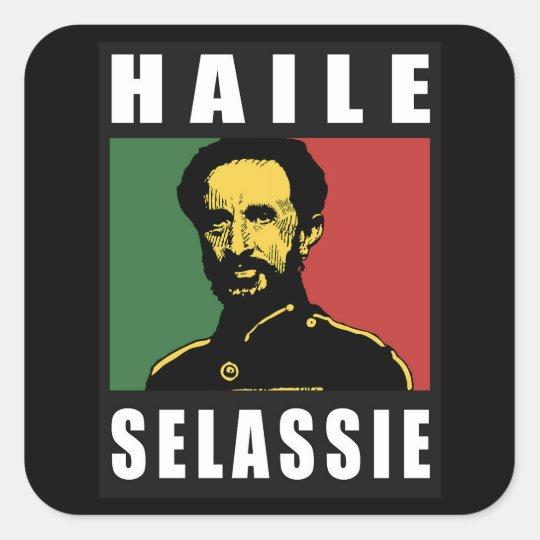Haile Selassie Emperor - Reggae - Sticker
