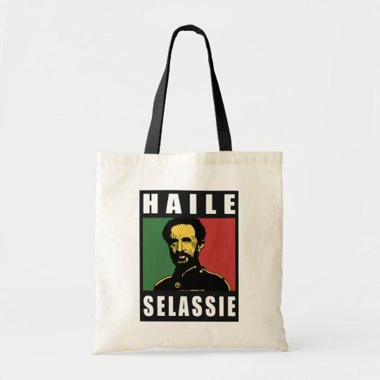 Haile Selassie Emperor - Reggae - Tote Bag Tragetasche
