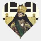 Haile Selassie Empire of Ethiopia Love Sticker