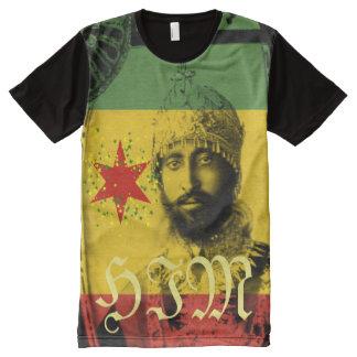 Haile Selassie ganz über Druck ER T - Shirt