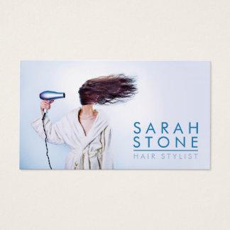 Hairstylist-Friseur-Friseursalon Visitenkarte