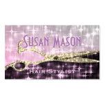 Hairstylist-Glitter-Zauber Visitenkarten