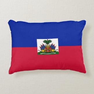 Haiti-Flagge Dekokissen