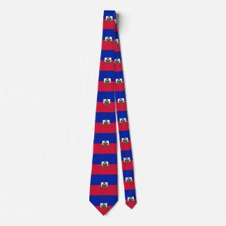 Haiti-Flagge Krawatte
