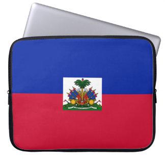 Haiti-Flagge Laptopschutzhülle