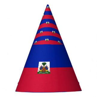Haiti-Flagge Partyhütchen