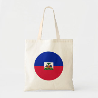 Haiti-Flagge Tragetasche