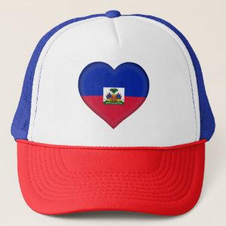 Haiti-Flagge Truckerkappe