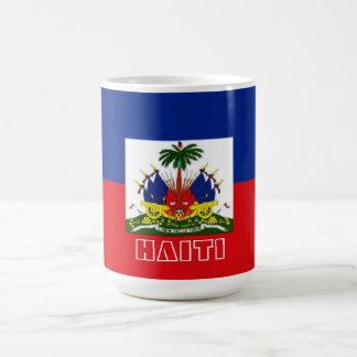 Haiti-Flaggen-Tasse Kaffeetasse