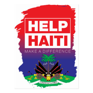 Haiti_Help Postkarte