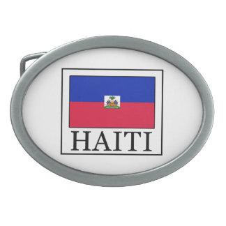 Haiti Ovale Gürtelschnalle