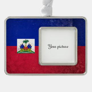 Haiti Rahmen-Ornament Silber