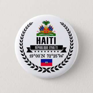 Haiti Runder Button 5,7 Cm