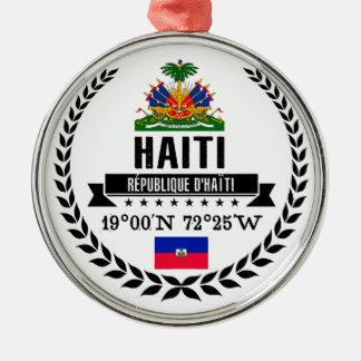 Haiti Silbernes Ornament