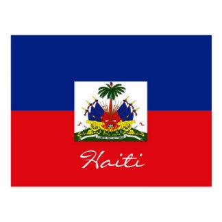 Haiti-Staatsflaggepostkarte Postkarte