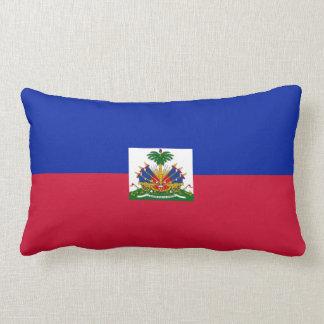 Haitianisches Flaggenkissen Lendenkissen