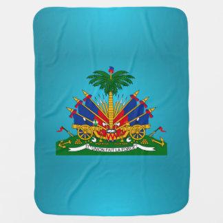 Haitianisches Wappen Babydecke