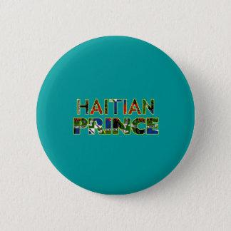 HAITIANPRINCE001 RUNDER BUTTON 5,7 CM