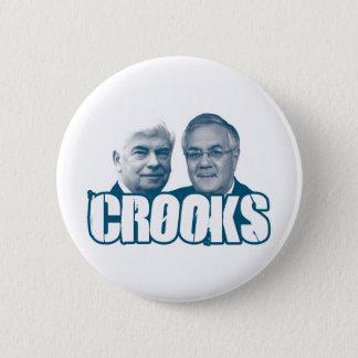 HAKEN: Chris Dodd und Barney-Frank Runder Button 5,1 Cm