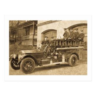 Haken und Leiter Vintage frühe 1900s Postkarte