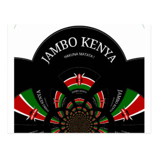 Hakuna Matata Jambo Kenia Postkarte