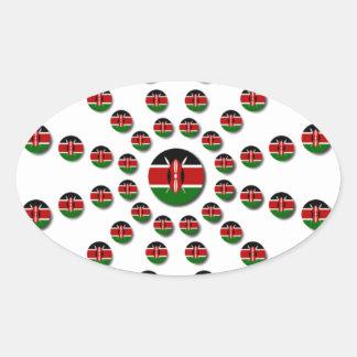 Hakuna Matata Kenia Ovaler Aufkleber