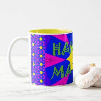 Hakuna Matata schöne fantastische Entwurfs-Farben Zweifarbige Tasse