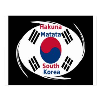 Hakuna Matata Südkorea Postkarte