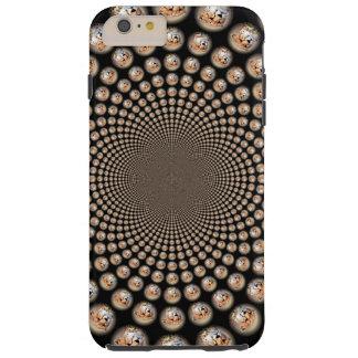 Hakunamatata gefährdete Gepard-Riss-Kennzeichen Tough iPhone 6 Plus Hülle