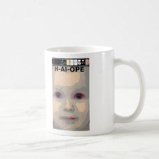 HAL AI und HOFFNUNG und ÄNDERUNG Kaffeetasse