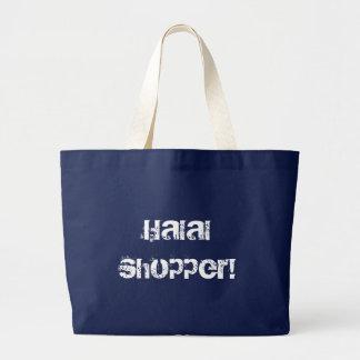 Halal Käufer! - EinkaufsTaschentasche Leinentasche