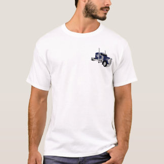 Halb LKW dunkelblau T-Shirt