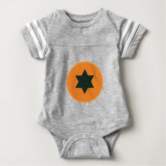 halbe Frucht des Sternes Baby Strampler