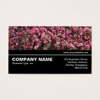 Halbe V3 - Rosa Kirschblüte Visitenkarte