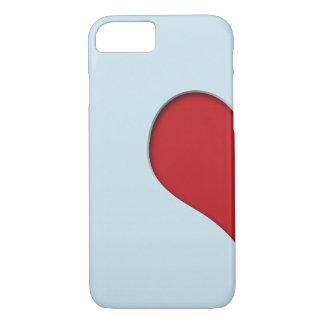 Halber Herz-Fall iPhone 8/7 Hülle