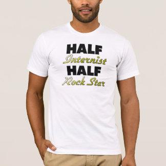 Halber Internist-halber Rockstar T-Shirt