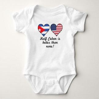 Halber Kubaner ist besser als keine Baby Strampler