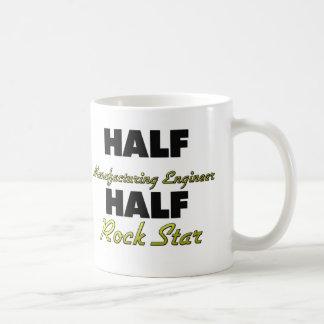 Halber Maschinenbauer-halber Rockstar Kaffee Haferl