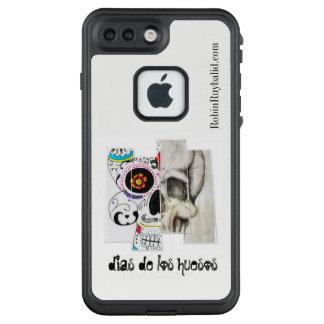 Halber medizinischer Ilustratiom halber LifeProof FRÄ' iPhone 8 Plus/7 Plus Hülle