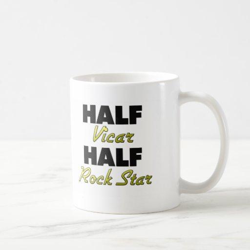 Halber Pfarrers-halber Rockstar Kaffee Tassen