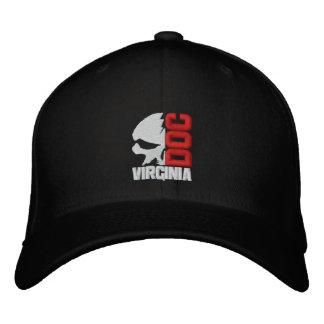 Halber Schädel-kundenspezifische Baseballmütze Bestickte Kappe