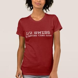 Halber Schweizer T-Shirt