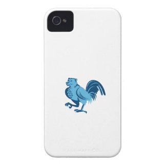 Halbes Bärn-halbes Huhn-Hybridmarschieren Retro iPhone 4 Case-Mate Hülle