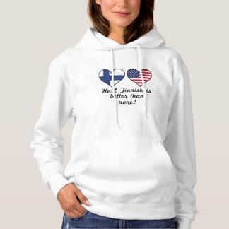 Halbes finnisches ist besser als keine hoodie